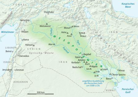 Karte_Mesopotamien